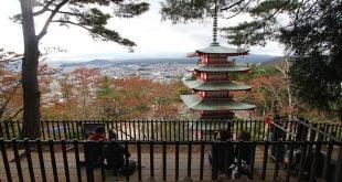 """Những Bức Ảnh Tuyệt Đẹp Mùa Lá Đỏ Nhật Bản 2016 : Núi Phú Sĩ Cuối Thu"""""""