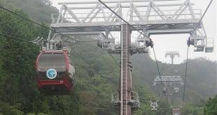 Cáp treo Hakone đi từ lên Owakudani