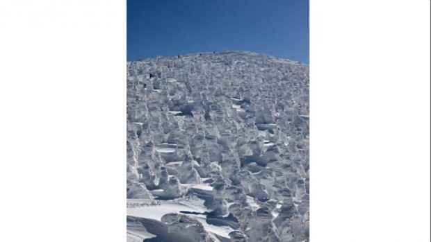 """Núi Zao ở tỉnh Yamagata Prefecture với những """"quái vật tuyết"""""""