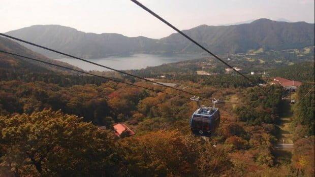 Cáp treo Hakone