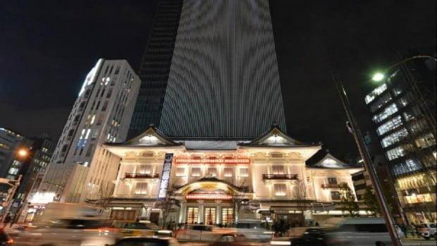 Nhà hát Kabuki-za ở Tokyo
