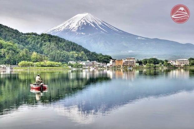 4(Kawaguchi-Lake.)
