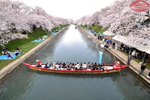 Bờ sông thơ mộng Shinsakai