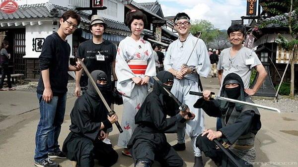 Ghé qua làng Samurai, Ninja chờ đón bạn