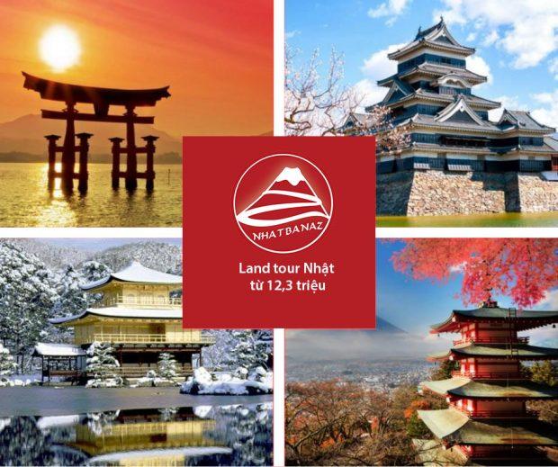 Chuyên Land tour Nhật Bản