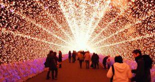 Lễ hội ánh sáng đẹp Nhất ở Nhật Bản
