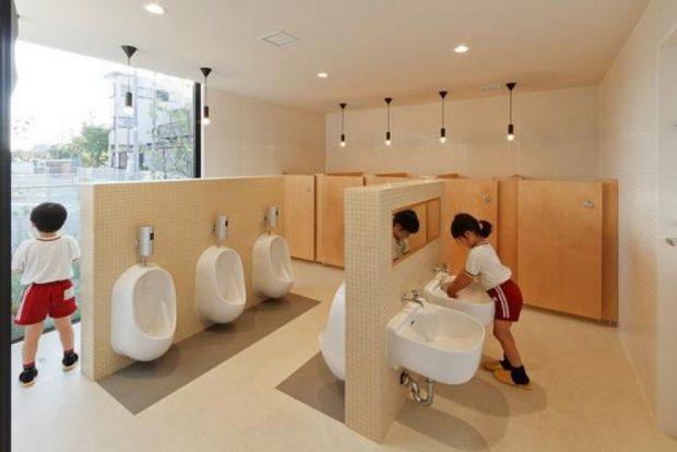 Nhà vệ sinh của trường học