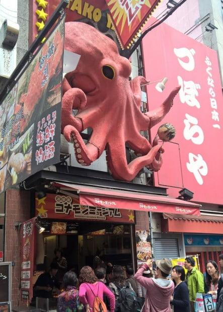 Nhà hàng Bạch tuộc nổi tiếng