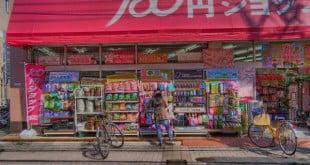 Những nơi mua sắm với giá 100 yên ở Nhật