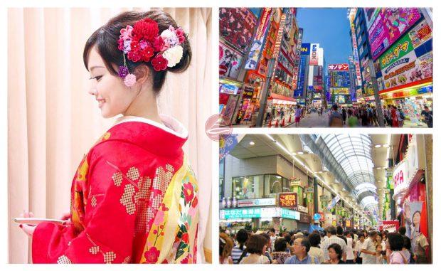 Du lịch và mua sắm hàng Nhật bản