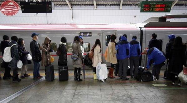 Thói quen xếp hàng ở Nhật