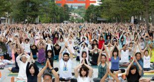 yoga ở Heian-Jingu-nhat-ban