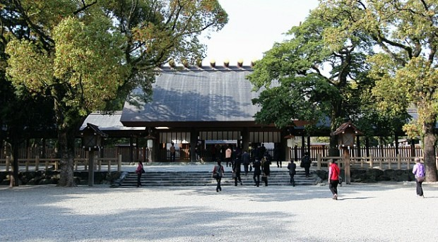 đền thờ Atsuta Shrine