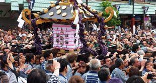 Lễ Hội Đền Thờ Thường Niên Phổ Biến Nhất Ở Sanja Matsuri-Tokyo