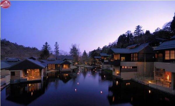 Khung cảnh trữ tình của Hoshino Resorts