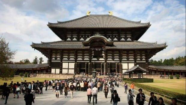 Chùa Todaji , Nara - là chùa bằng gỗ lớn nhất thế giới
