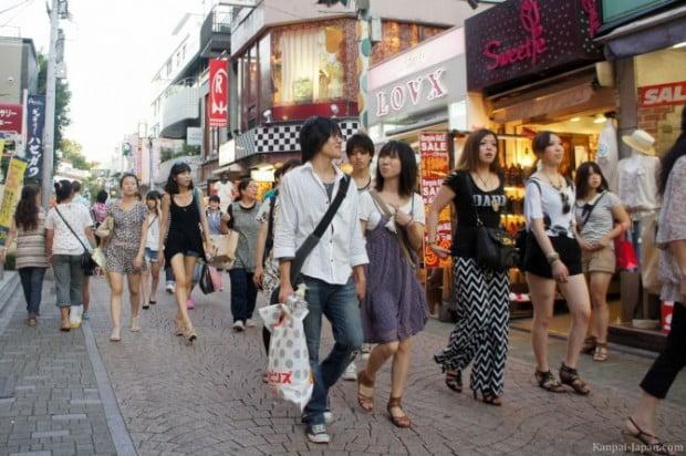 Đi bộ phố Harajuku