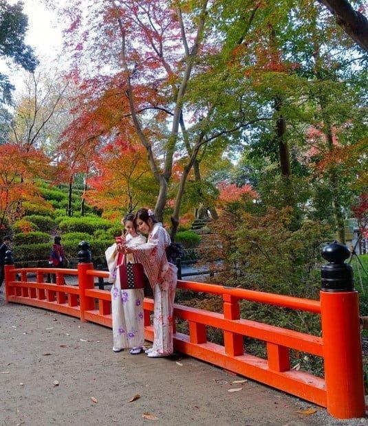 Maiko ở Kyoto