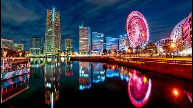 Yokohama lộng lẫy trong ánh đèn