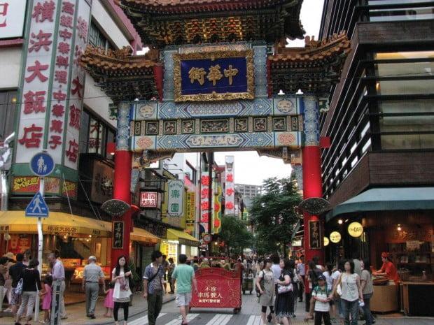 China-town - khu phố người Trung Quốc tại Nhật Bản
