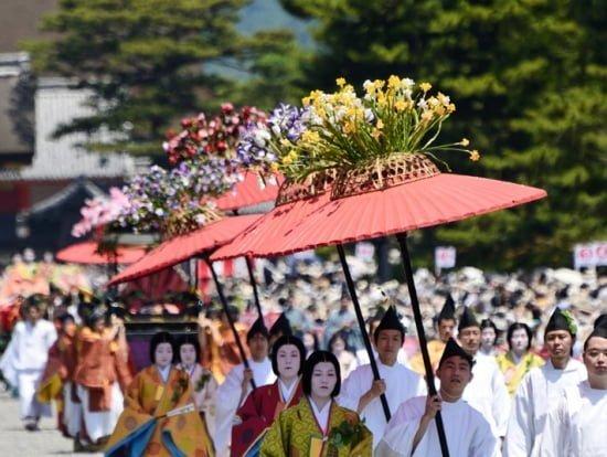 Buổi rước hoàng đế ở Kyoto