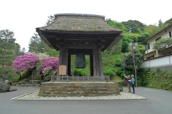 Chuông tại đền Kenchoji, Kamakura, Nhật Bản