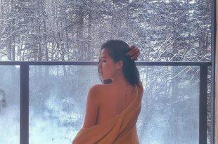 Diễn Viên Phương Anh du lịch Nhật Bản mùa đông 5