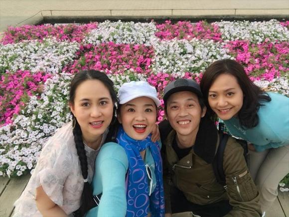 Hồng Ánh, Hoài Linh tại đất nước Nhật Bản xinh đẹp