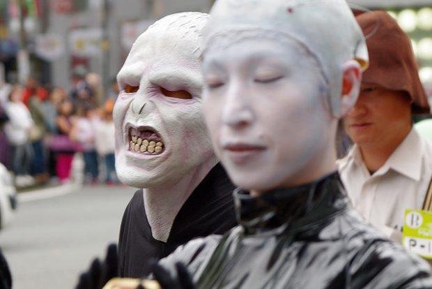 Rùng rơn và quằn quại Halloween ở Nhật Bản