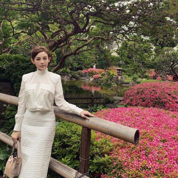 Huyền Baby đi du lịch Nhật Bản