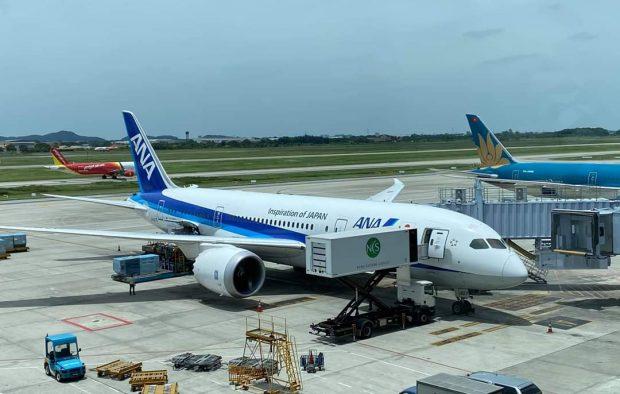 Nối lại chuyến bay tới Nhật Bản