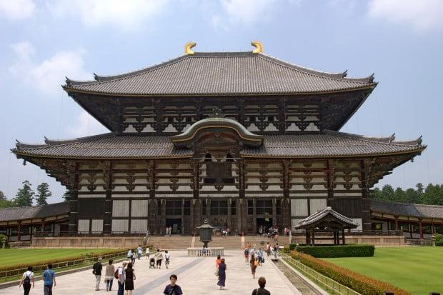 Ngôi chùa Todaiji cổ kính ở Nara, Nhật Bản