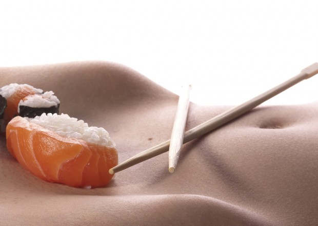 Sushi khỏa thân