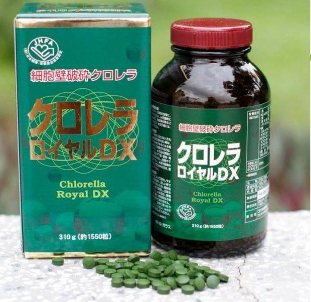 Tảo lục Chlorella 2