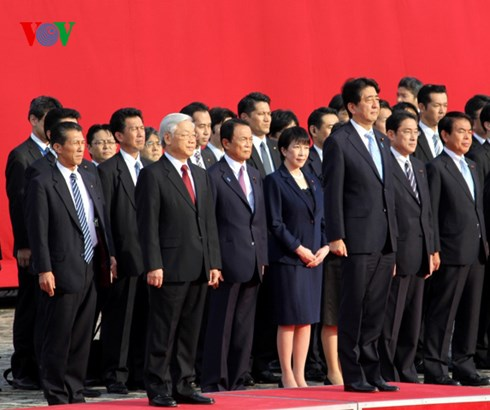 Chuyến bay của tổng bí thư Nguyễn Phú Trọng tới Nhật Bản năm 2015