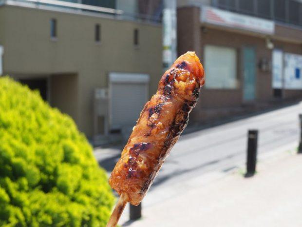 Thịt heo nướng của quán Tontan nổi tiếng trong phố Togoshi Ginza.