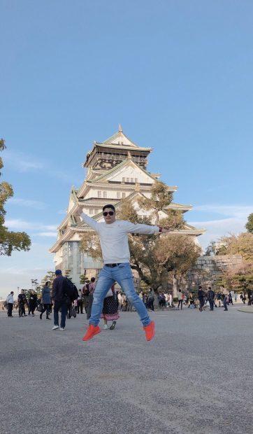 Bay lên nào Nhật bản - lâu đài tráng lệ
