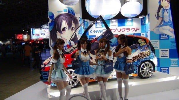 các cô gái người mẫu cho thương hiệu video game