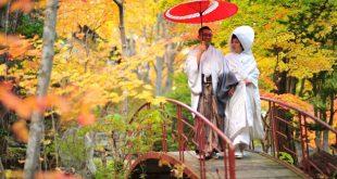 Tuyệt đẹp và cực lãng mạn ảnh cưới mùa thu Nhật bản