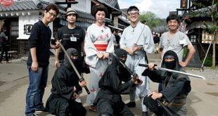 Ninja – Lễ hội sôi động, kịch tính với du khách!