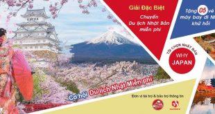 Du lịch Nhật bản miễn phí cùng Why-Japan
