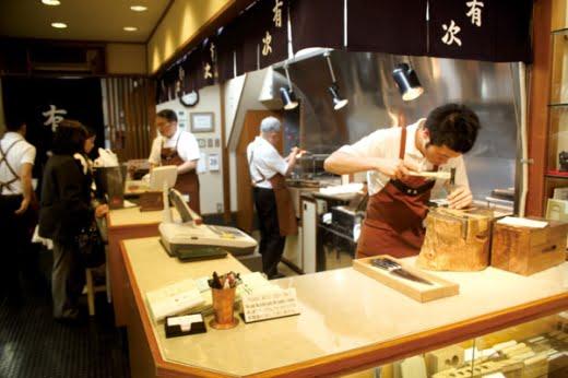Cửa hàng Dao nổi tiếng Aritsugu