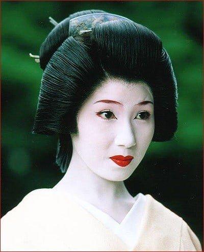 geisha tóc