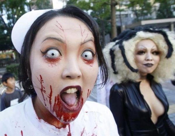 Halloween Nhật bản - đáng yêu phát khiếp