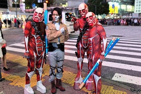 Halloween sắc thái Cospalay Nhật bản