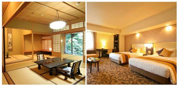 Khách sạn kiểu Nhật Ryokan vs kiểu Tây âu
