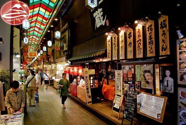 Chợ Nishiki - kyoto ví như là nhà bếp của Kyoto