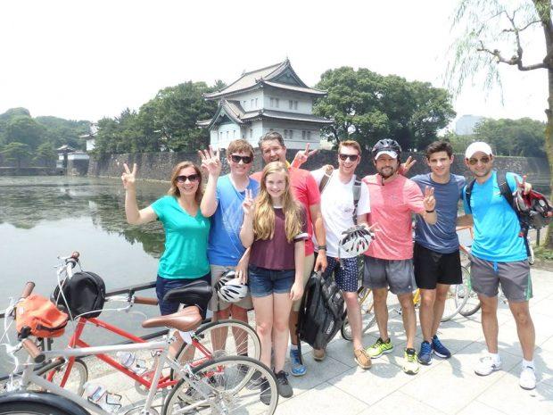 """Khám phá Tokyo xe đạp tour """"huyền diệu Tokyo"""""""