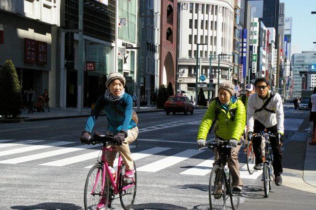 Khám phá Tokyo xe đạp tuyến chính