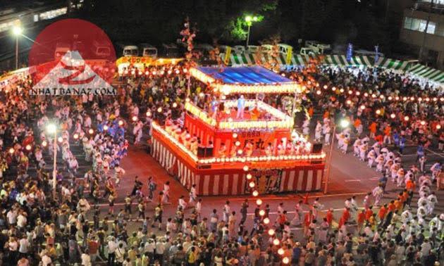 Những hình ảnh rực rỡ của Lễ Hội Obon Nhật Bản